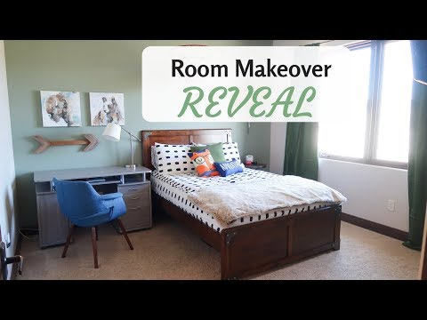 BOYS BEDROOM MAKEOVER - Room tour 2018 (Reveal)