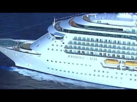 The Biggest Cruise Ship In Australia  Radiance Of The