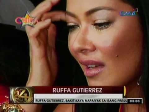 24 Oras: Ruffa Guttierez, napa-iyak sa isang Press   Conference