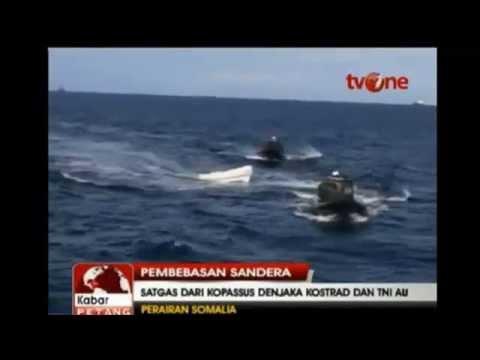 Indonesia Army attack Somali Pirates