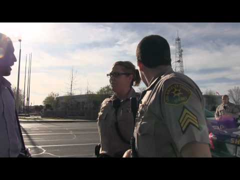 LA Sheriff Department - Trayvon Martin March for Solidarity