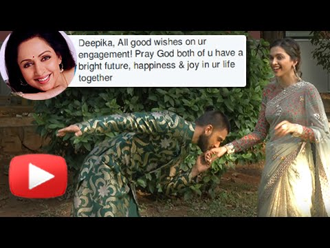 Deepika Padukone & Ranveer Singh Are NOT Engaged, Hema Malini Clarifies
