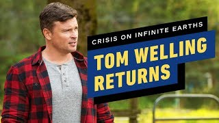 How Crisis on Infinite Earths Part 2 Brought Back Tom Welling's Clark Kent