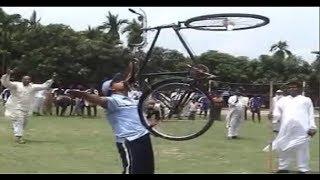 পুলিশ সদস্যের সাংঘাতিক সাইকেল খেলা দেখুন।। BD Police Bicycles Play