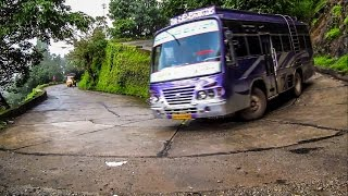 Amazing Agumbe Ghats: Dangerous Hairpin Bend