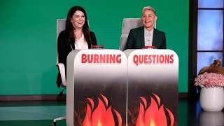 Lauren Graham Answers Ellen's 'Burning Questions'