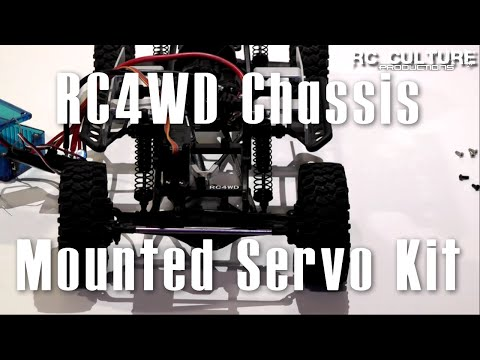 RC Culture - RC4WD Chassis Mounted Servo Kit