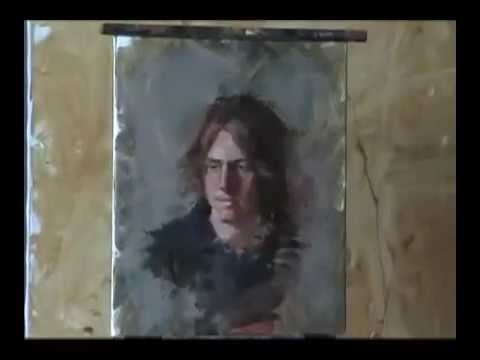 Classical style speed painting #2 of a live model by Jonathan Hardesty