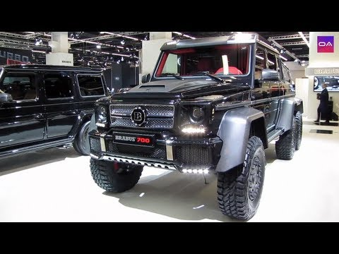 mercedes g63 amg 6x6 brabus 700 youtube. Black Bedroom Furniture Sets. Home Design Ideas