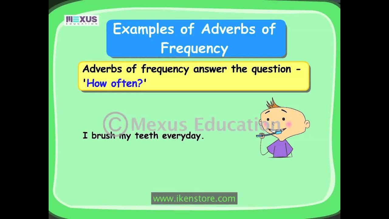 Learn Grammar | Adverbs of Frequency in English - YouTube