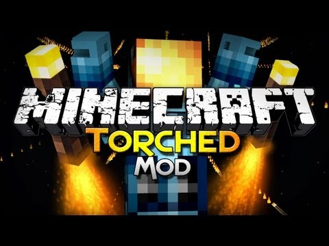 Minecraft Mod Showcase: Torched - Torch Gun, RPT Launcher, and MORE!