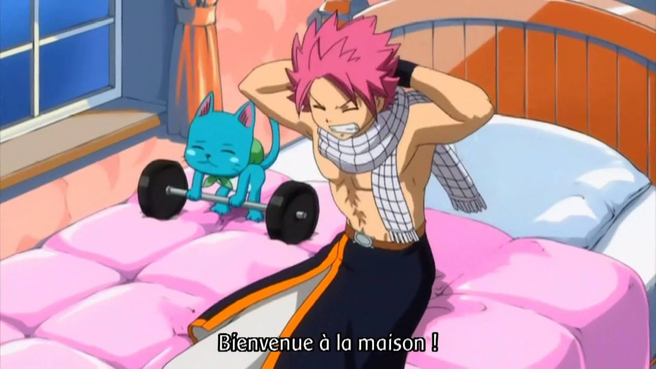 fairytail funny moments lucy s kick   youtube