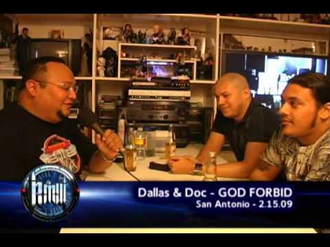 GOD FORBID (Pt. 1) on Robbs MetalWorks