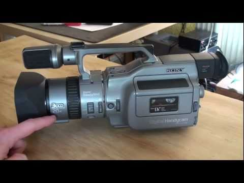 The Sony DCR-VX1000 - review - in HD!