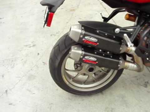 FMF Apex Exhaust for Ducati Streetfighter-S Video