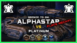 AlphaStar Plays Mech?! AlphaStar Bronze to GM Ep3 [TvT] Deepmind A.I. Starcraft 2