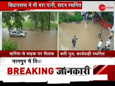 Nagpur witnesses heavy rains, waterlogged at several places