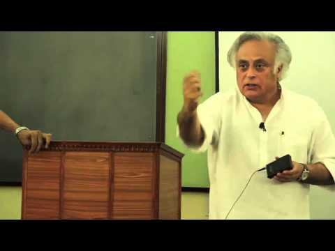 CCS talk: Ecology Growth & Democracy in India by Shri Jairam Ramesh