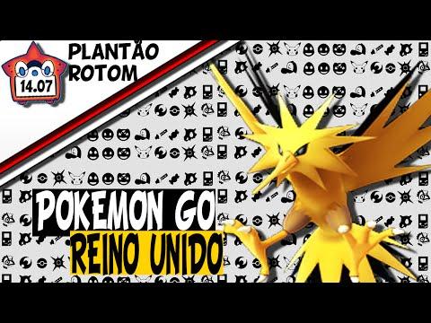 Plantão Rotom -  Pokémon GO no Reino Unido, Intel e Anime!