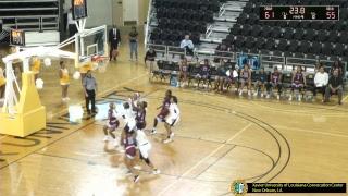 2019-02-11 XULA women's basketball vs. Talladega