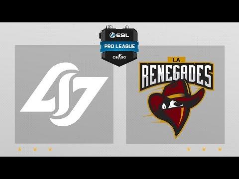 CS:GO - CLG vs. Renegades [Dust2] Map 2 - ESL Pro League Season 4 - NA Matchday 25