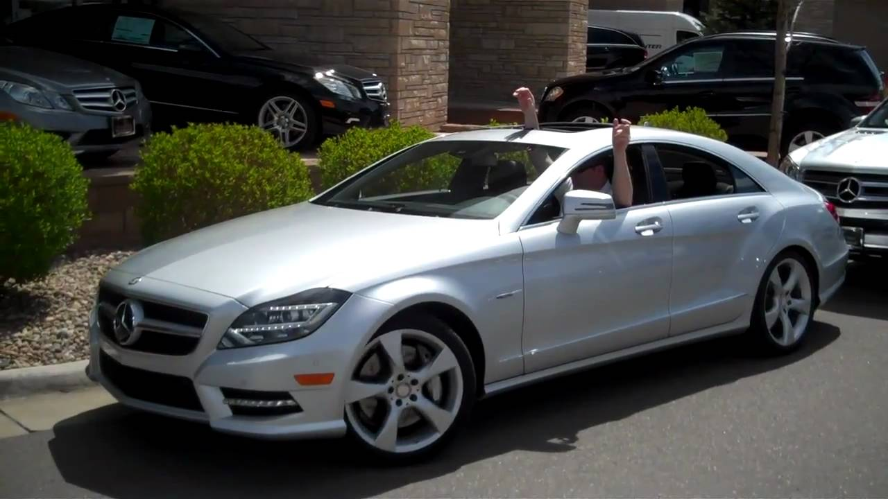 2012 Cls550 New Mercedes Benz Cls Walk Around And