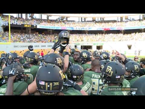 Shawn Oakman Gets Baylor Football Fired Up Before SMU Game