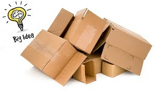 5 awesome ideas to reuse cardboard box | Best out of waste | Artkala 326