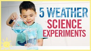 PLAY | 5 Weather Science Experiments!!