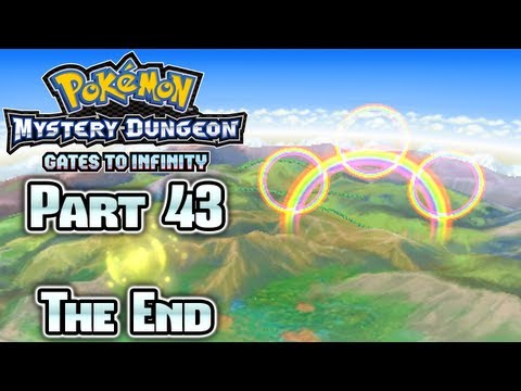 Pokmon Mystery Dungeon Gates to Infinity Part 43: Ending Finale!