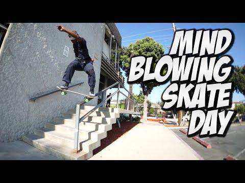 MIND BLOWING SKATE DAY !!! - NKA VIDS -