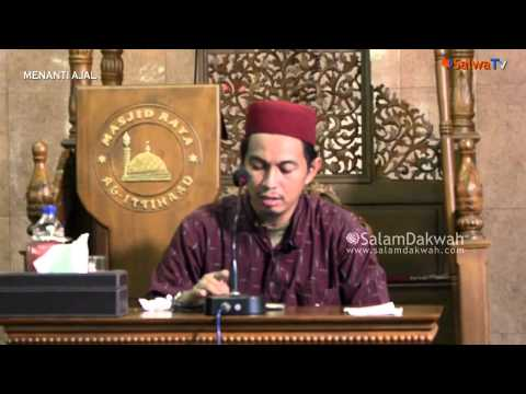 Menanti Ajal Ustadz Abu Zubair Al Hawary, Lc