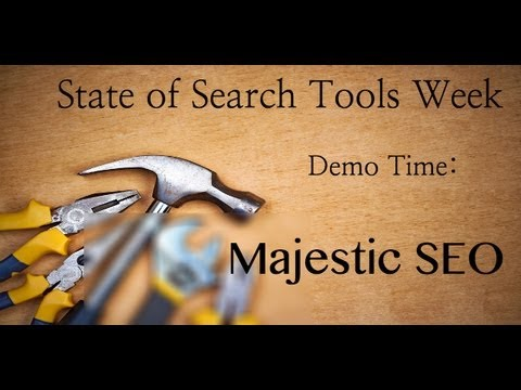 MajesticSEO Tools Week Demo HD