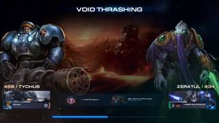 Starcraft 2 Co-Op Walkthroughs: Void Thrashing