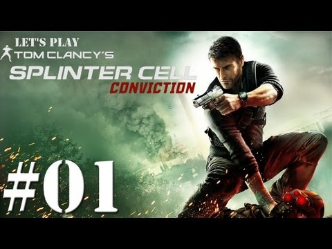 Let's Play: Splinter Cell Conviction - Episode 01 - Merchant Markets + Mansion