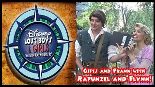 Gifts and Prank with Rapunzel and Flynn