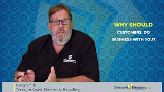 Greg Smith Treasure Coast Electronic Recycling - Discount Directory