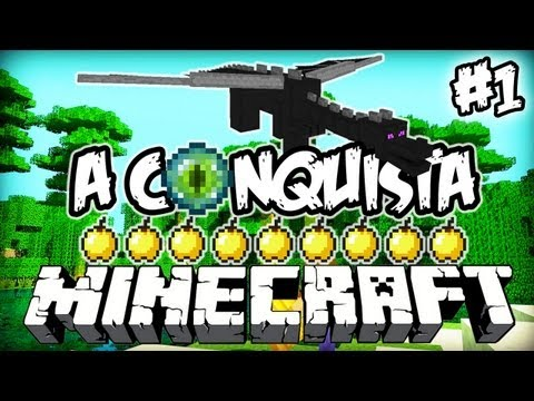 Até ao The End! - A Conquista 1: Minecraft