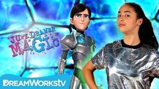 Magic Armor Transformation Trick | Trollhunters Presents JUNK DRAWER MAGIC