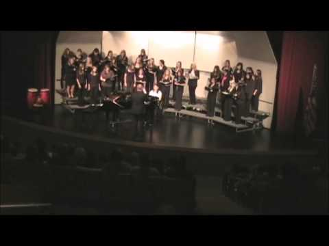Nekoosa High School Women's Choir Informance 2012