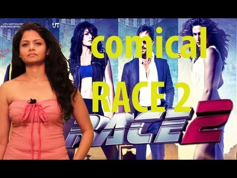RACE 2 -  SEXY Anuya's FUNNY Comments | Latest Bollywood Hindi Movie