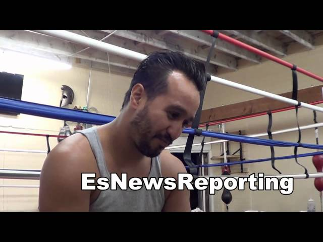 former pacquiao sparring partner of manny vs floyd mayweather EsNews