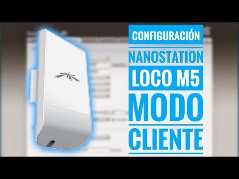 Configurando Nanostation Loco M5