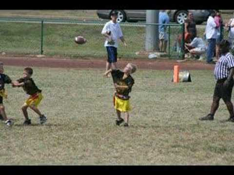 Steelers Flag Football Video