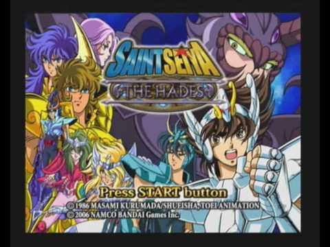 Saint Seiya The Hades Intro Playstation 2 Pal Version