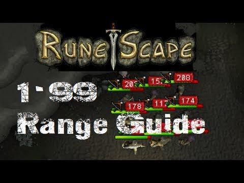 RuneScape Range Guide 1-99