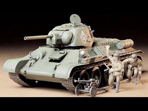 США АК хобби терапия модель Tamiya Советский танк Т34/76 ЧТЗ ChTZ