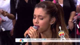 Ariana Grande   Tattooed Heart Today Show 2013