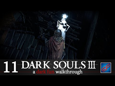 Dark Souls 3 Walkthrough Part 11 - Mimic Chest & The Winged Knight