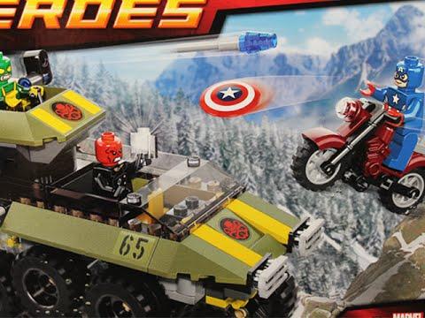 LEGO MARVEL SUPERHEROES CAPTAIN AMERICA vs. HYDRA (Set 76017)